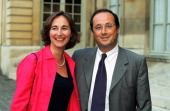 Lionel Jospin receives his Ministers for dinner at Hotel Matignon In Paris France On July 28 1999 Segolene Royal and Francois Hollande
