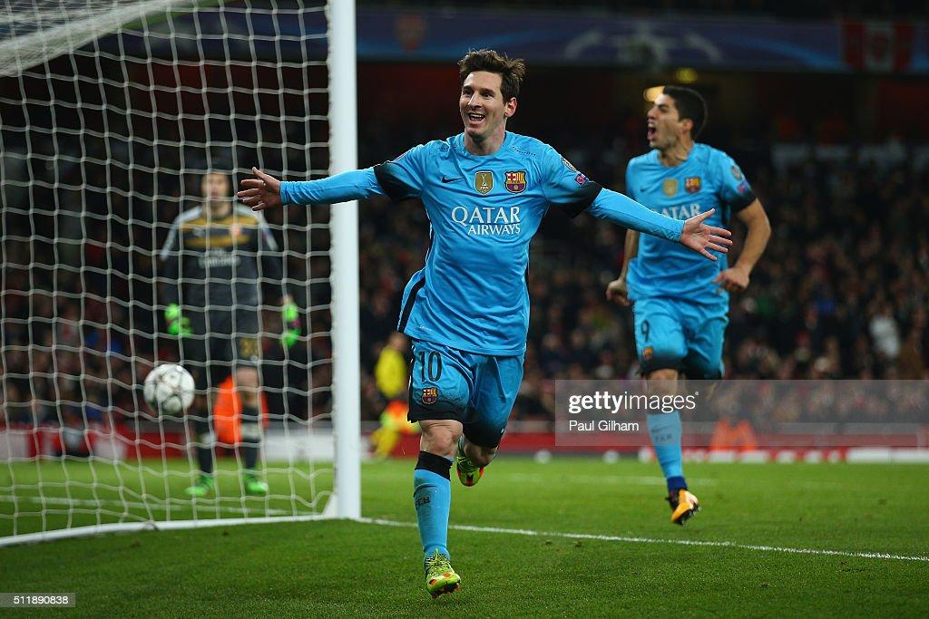 Arsenal FC v FC Barcelona - UEFA Champions League Round of ...