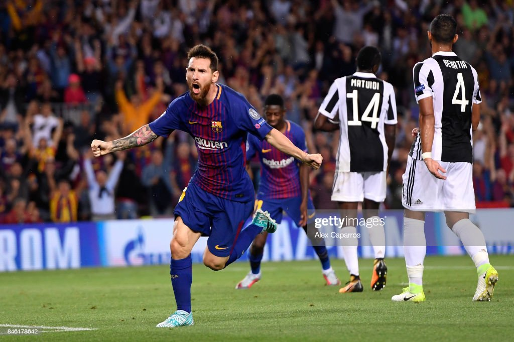 FC Barcelona v Juventus - UEFA Champions League : News Photo