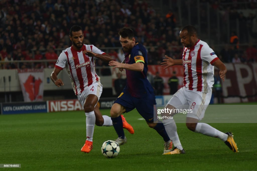 Olympiakos Piraeus v FC Barcelona - UEFA Champions League