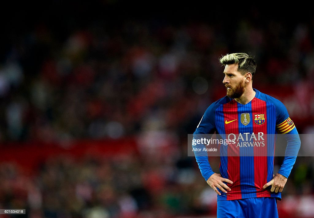 Sevilla FC v FC Barcelona - La Liga : News Photo