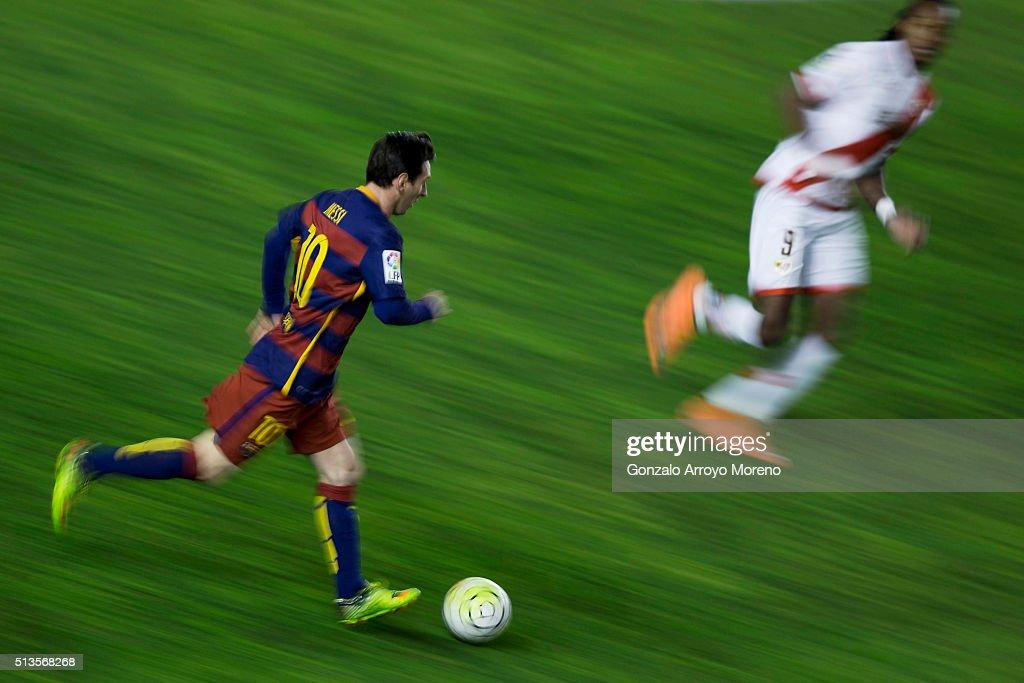 Rayo Vallecano v FC Barcelona - La Liga