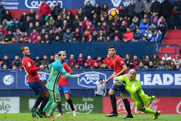 Barcelona vs Osasuna