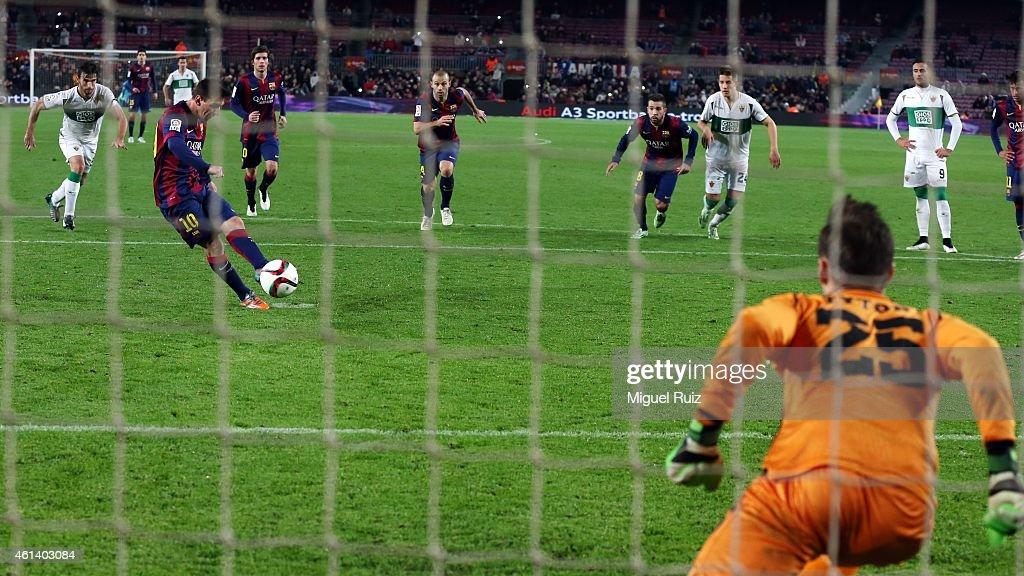 Barcelona v Elche - Copa del Rey: Round of 16