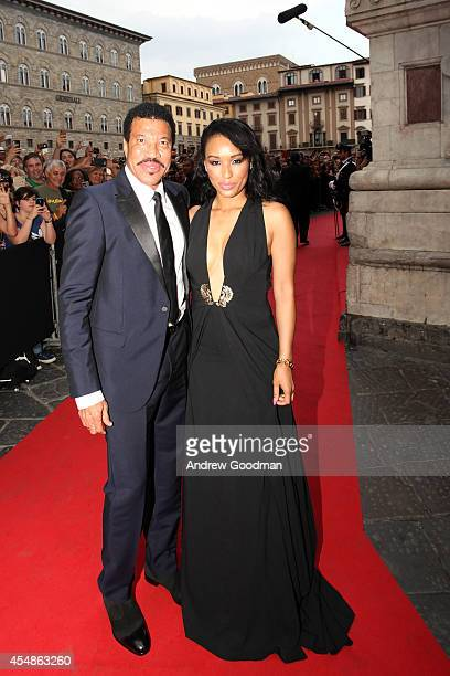 Lionel Richie and Lisa Parigi attend the Celebrity Fight Night In Italy Benefitting The Andrea Bocelli Foundation and The Muhammad Ali Parkinson...