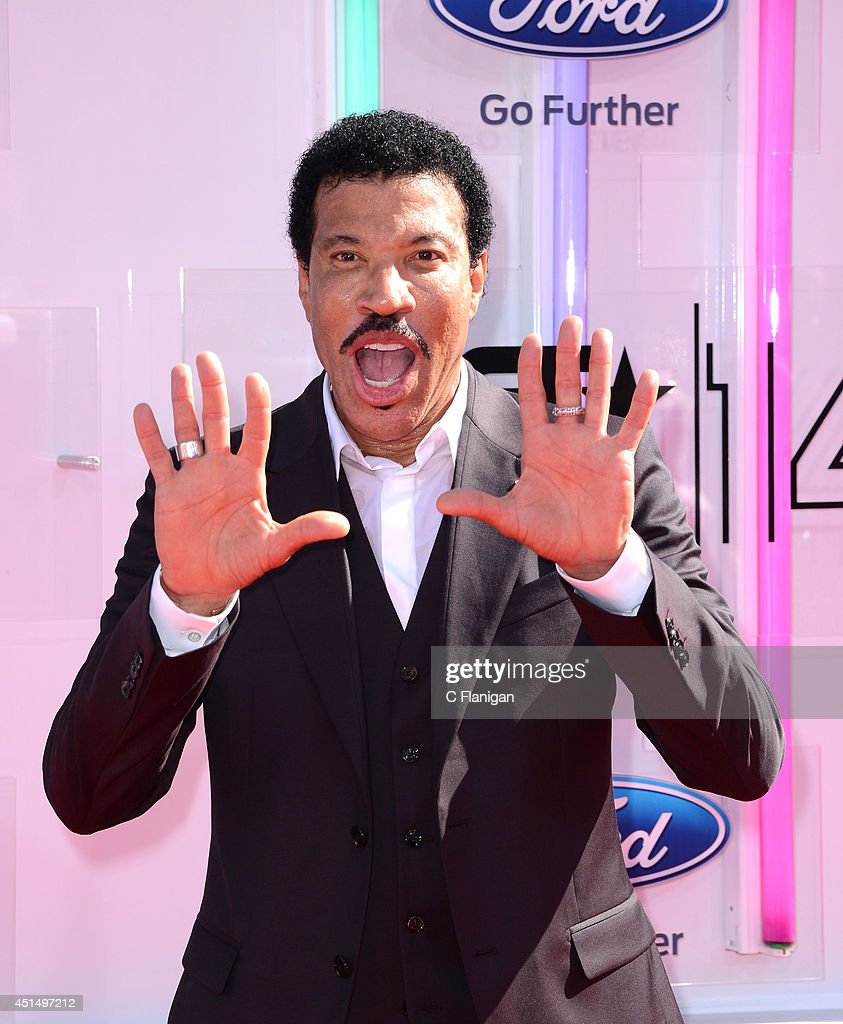 Lionel Richie arrives to the 2014 'BET AWARDS' at Nokia Plaza LA LIVE on June 29 2014 in Los Angeles California