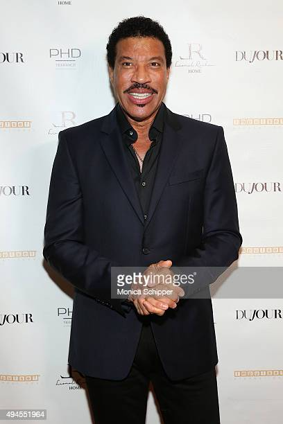 Lionel Richie attends Jason Binn's DuJour Magazine and Lionel Richie Home Collection launch with IMPULSE International on October 27 2015 in New York...