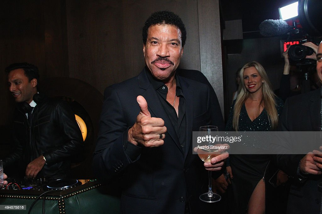 <a gi-track='captionPersonalityLinkClicked' href=/galleries/search?phrase=Lionel+Richie&family=editorial&specificpeople=204139 ng-click='$event.stopPropagation()'>Lionel Richie</a> attends Jason Binn's DuJour Magazine and <a gi-track='captionPersonalityLinkClicked' href=/galleries/search?phrase=Lionel+Richie&family=editorial&specificpeople=204139 ng-click='$event.stopPropagation()'>Lionel Richie</a> Home Collection launch with IMPULSE! International at PHD Terrace at Dream Midtown on October 27, 2015 in New York City.
