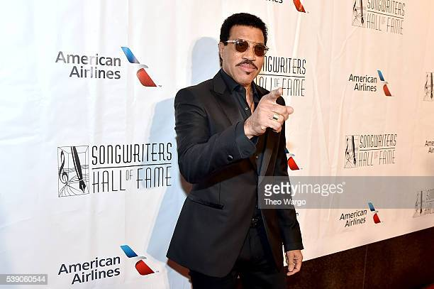 Lionel Richie attends Songwriters Hall Of Fame 47th Annual Induction And Awards at Marriott Marquis Hotel on June 9 2016 in New York City