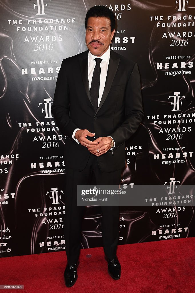 Lionel Richie attends the 2016 Fragrance Foundation Awards presented by Hearst Magazines on June 7 2016 in New York City