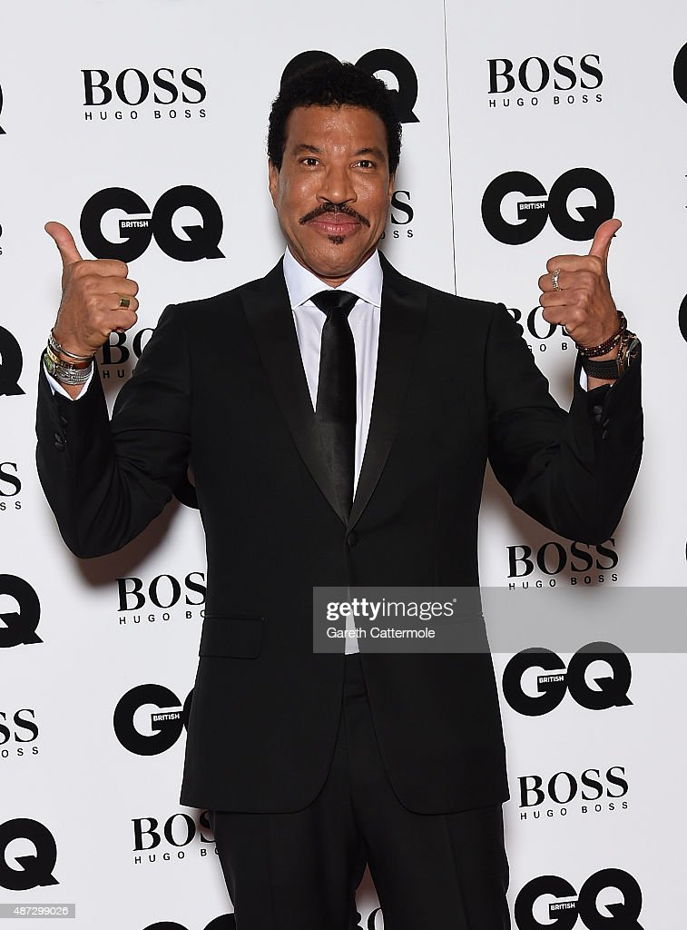 <a gi-track='captionPersonalityLinkClicked' href=/galleries/search?phrase=Lionel+Richie&family=editorial&specificpeople=204139 ng-click='$event.stopPropagation()'>Lionel Richie</a> attends the GQ Men Of The Year Awards at The Royal Opera House on September 8, 2015 in London, England.