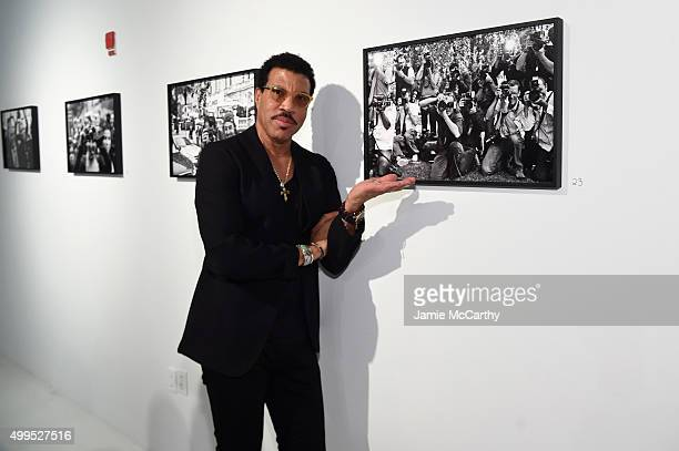 Lionel Richie attends the Opening of Lenny Kravitz FLASH Photography Exhibition at Miami Design District on December 1 2015 in Miami Florida