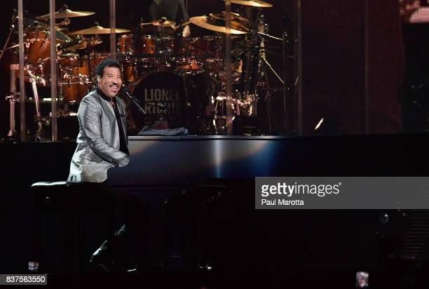 Lionel Richie performs at TD Garden on August 22 2017 in Boston Massachusetts In May 2017 Richie received an Honorary Doctor of Music Degree from...