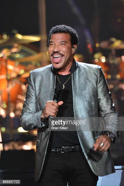 Lionel Richie performs at the Prudential Center on August 18 2017 in Newark New Jersey