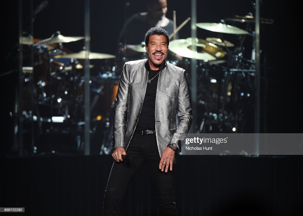 Lionel Richie performs in Concert at Madison Square Garden on August 19, 2017 in New York City.