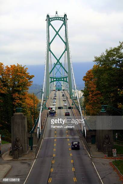 Lions Gate Bridge from Stanley Park