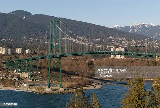 Lions Gate Bridge in Vancouver