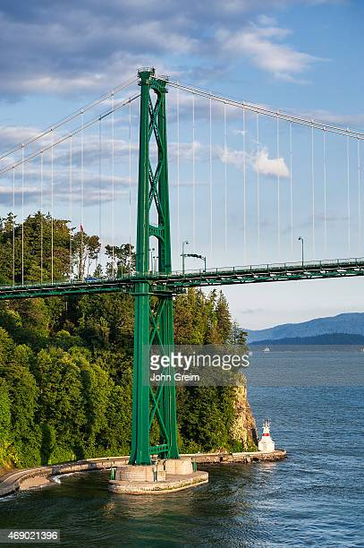 Lions Gate suspension Bridge and Stanley Park