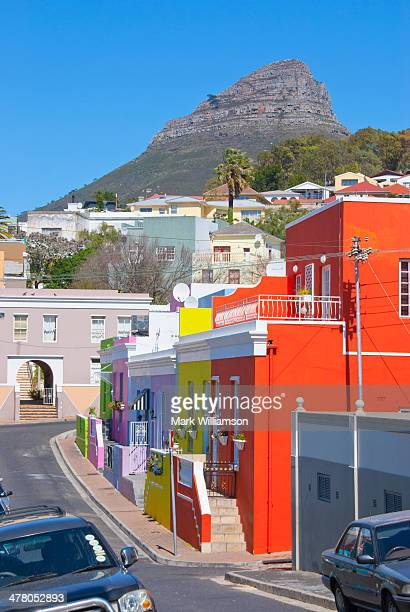 Lion?s Head mountain from Bo Kaap, Cape Town.