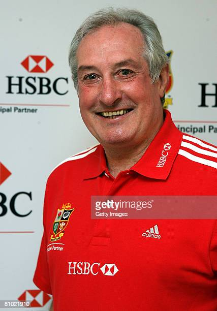Lions Tour Ambassador Gareth Edwards poses prior to taking part in a debate on May 7 2008 at Tate Britain in London England
