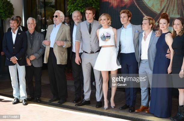 Lionsgate Motion Picture Group CoChairman Patrick Wachsberger Lionsgate Motion Picture Group CoChairman Rob Friedman actor Donald Sutherland director...