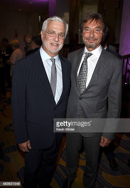 Lionsgate's Motion Picture Group CoChairs Rob friedman and Patrick Wachsberger attend HFPA Annual Grants Banquet at the Beverly Wilshire Four Seasons...