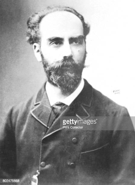 Lippmann' c1893 Jonas Ferdinand Gabriel Lippmann physicist and inventor From the 2e collection [Felix Potin c1893] Artist Eugene Pirou