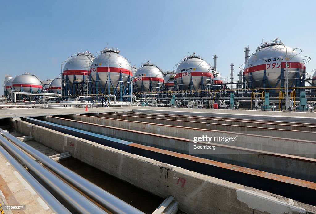 Views Of LPG Tanks At Cosmo Oil Refinery | Getty Images