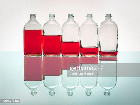 Liquid Levels : Stock Photo