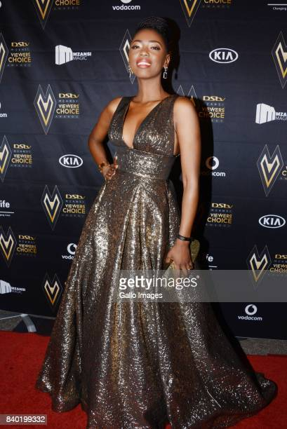 Lira during the DStv Mzansi Viewers Choice Awards event at the Sandton Convention Centre on August 26 2017 in Sandton South Africa Hosted by Bonang...
