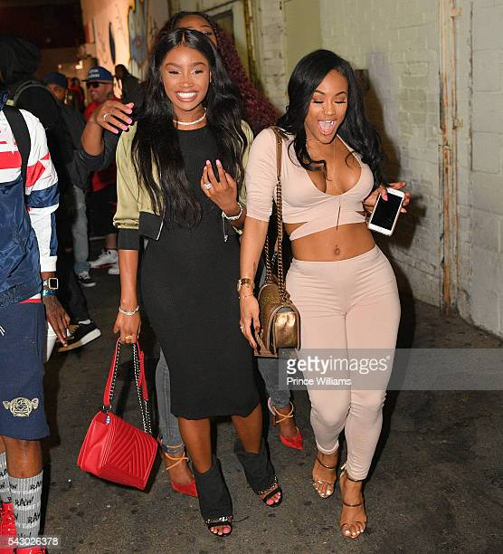 Lira Galore and Jerrika Karlae seen on Hollywood Blvd on June 24 2016 in Los Angeles California
