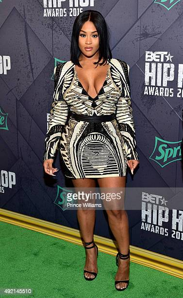 Lira Galore attends 2015 BET Hip Hop Awards at Boisfeuillet Jones Atlanta Civic Center on October 9 2015 in Atlanta Georgia