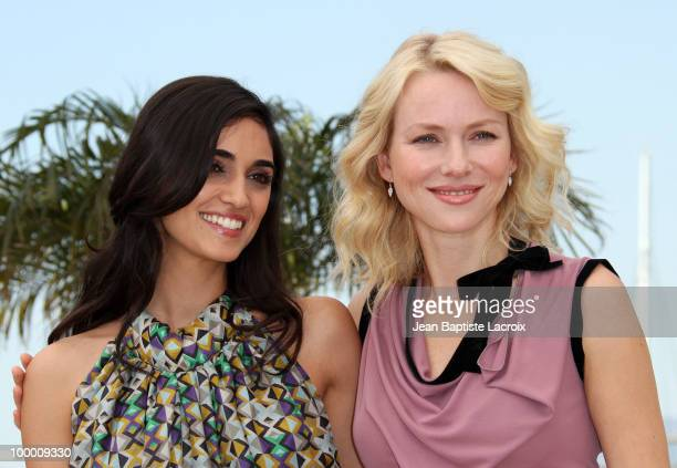 Liraz Charhi and Naomi Watts attend the 'Fair Game' Photo Call held at the Palais des Festivals during the 63rd Annual International Cannes Film...