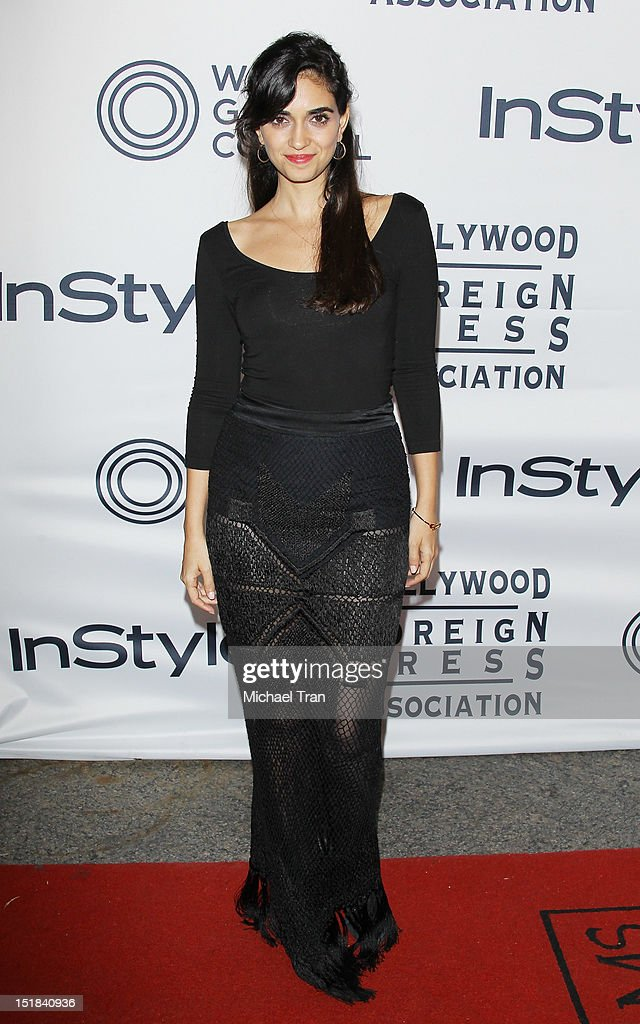 Liraz Charhi arrives at the Instyle and the Hollywood Foreign Press Association Party during the 2012 Toronto International Film Festival held at Windsor Arms Hotel on September 11, 2012 in Toronto, Canada.
