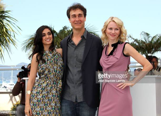 Liraz Charhi Doug Liman and Naomi Watts attend the 'Fair Game' Photo Call held at the Palais des Festivals during the 63rd Annual International...