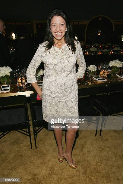 Lisa Anastos attends a private dinner in honor of Anri Sala at the Cartier Dome Miami Beach Botanical Garden on December 2 2008 in Miami Beach Florida