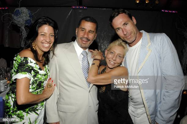 Lisa Anastos NY Governor David Paterson Lisa De Kooning and Joel Fitzpatrick attend PARRISH ART MUSEUM Midsummer Party Honoring DOROTHY LICHTENSTEIN...