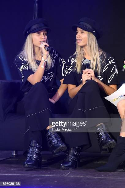 Lisa and Lena attend the Stylorama on November 18 2017 in Dortmund Germany