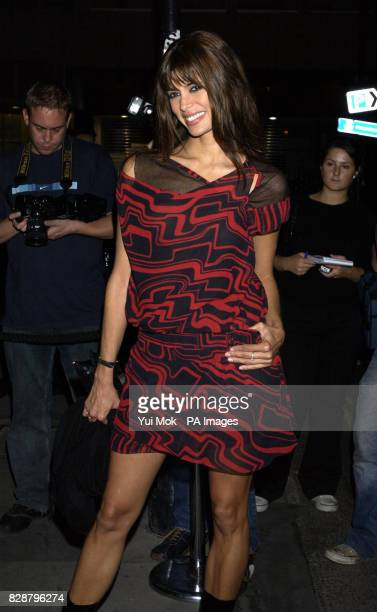Lisa B arrives for 'The House Warming' a party to celebrate the first anniversary of jewellers Garrard in Albemarle Street London
