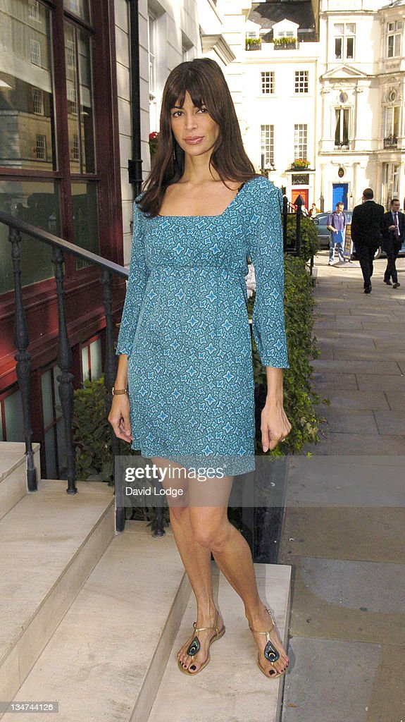 Lisa B during 2005 InStyle Shopping Awards - Winners Lunch at Morton's, Berkeley Square in London, Great Britain.