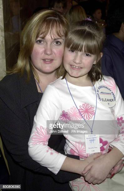 Lisa Bailey with her daughter Eleanor at the Hilton hotel in London for the 21st annual child of achievement awards The awards children who have...