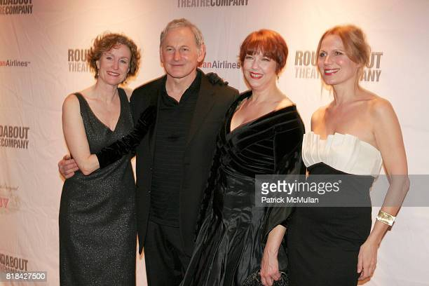 Lisa Banes Victor Garber Harriet Harris and Pamela Jane Gray attend Opening Night of Present Laughter at American Airlines Theater on January 21 2010...