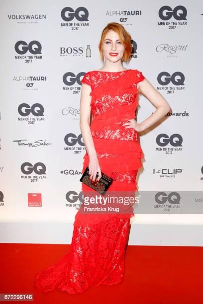Lisa Banholzer arrives for the GQ Men of the year Award 2017 at Komische Oper on November 9 2017 in Berlin Germany