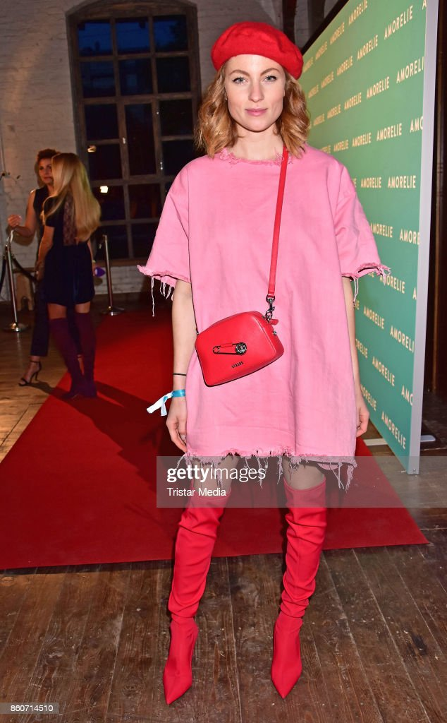 Lisa Banholzer attends the Amorelie Christmas Calender Launch Dinner on October 12, 2017 in Berlin, Germany.