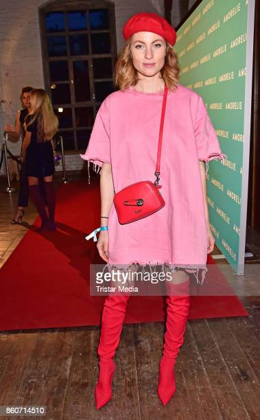 Lisa Banholzer attends the Amorelie Christmas Calender Launch Dinner on October 12 2017 in Berlin Germany