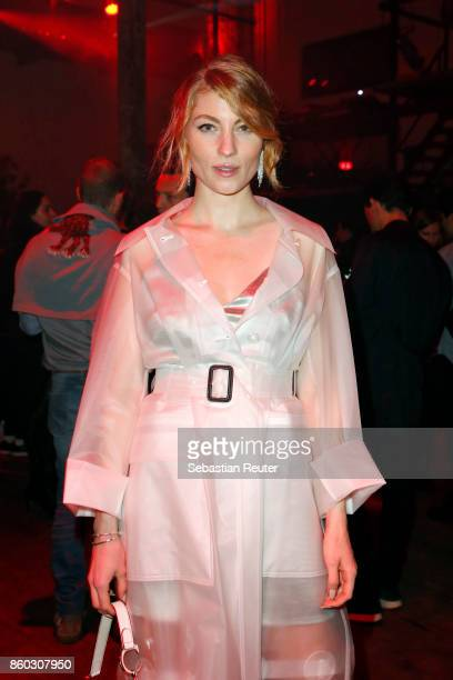 Lisa Banholzer attends the Moncler X Stylebopcom launch event at the Musikbrauerei on October 11 2017 in Berlin Germany