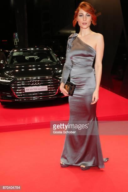 Lisa Banholzer during the 24th Opera Gala benefit to Deutsche AidsStiftung at Deutsche Oper Berlin on November 4 2017 in Berlin Germany