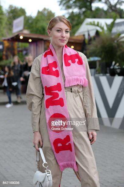 Lisa Banholzer poses during the Bread Butter by Zalando 2017 at arena Berlin on September 3 2017 in Berlin Germany