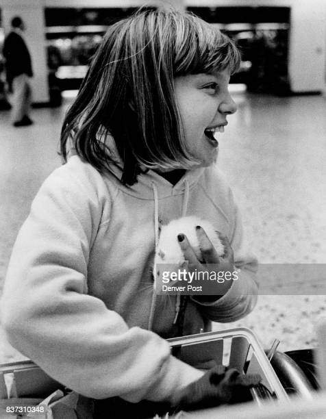 Lisa Baraya was at the airport with her parents Pat and Mary Ann Baraya and her Rat She said it is a rat but the Airline Airline calls it a Gerbil...