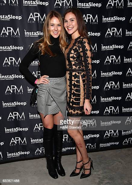 Lisa Bard and Vanessa Wilkinson attend APM Models 20th Anniversary Presented By InstaSleep Mint Melts #startdreaming on January 26 2017 in New York...